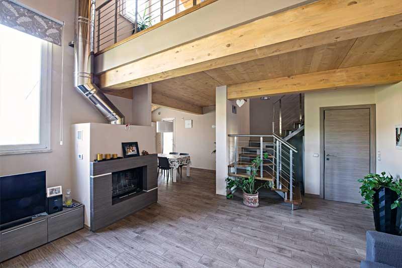 Case in legno siena interni