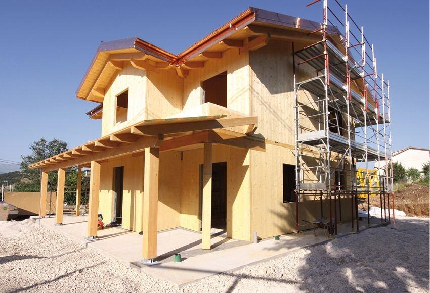 Tecnologia x lam costantini sistema legno - Costo al mq costruzione casa ...