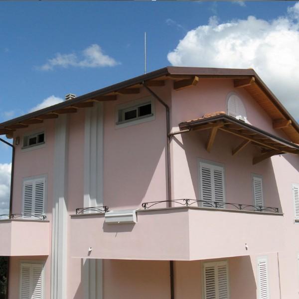 casa a tre piani lazio costantini sistema legno