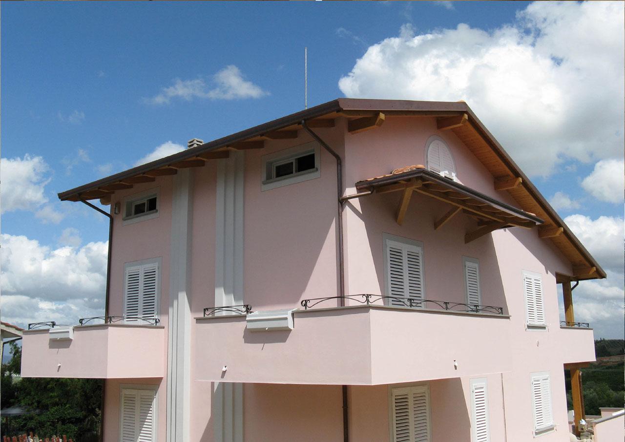 Casa a tre piani lazio costantini sistema legno for Piani di costruzione casa