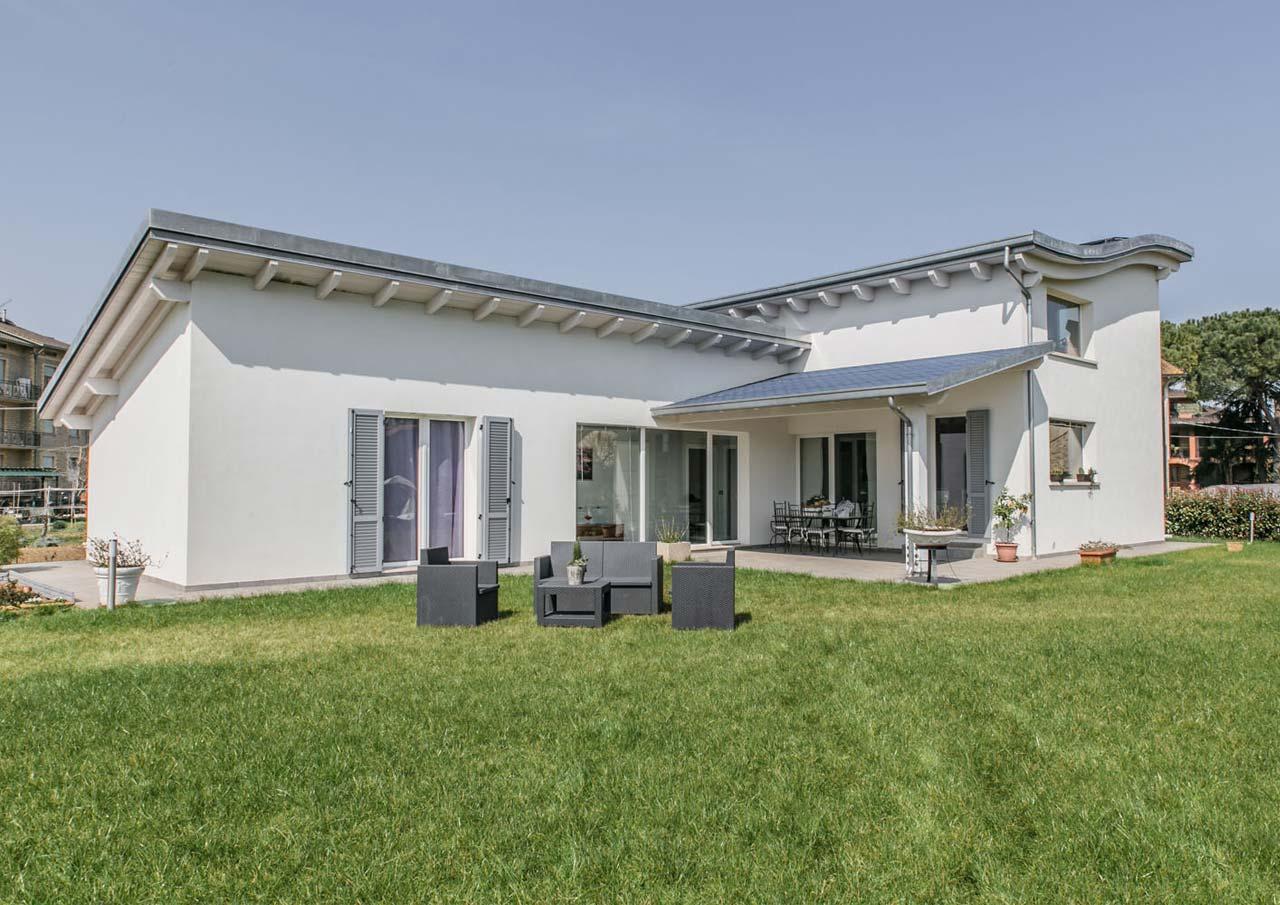 Casa ad un piano perugia umbria costantini sistema legno for Tetti di case moderne