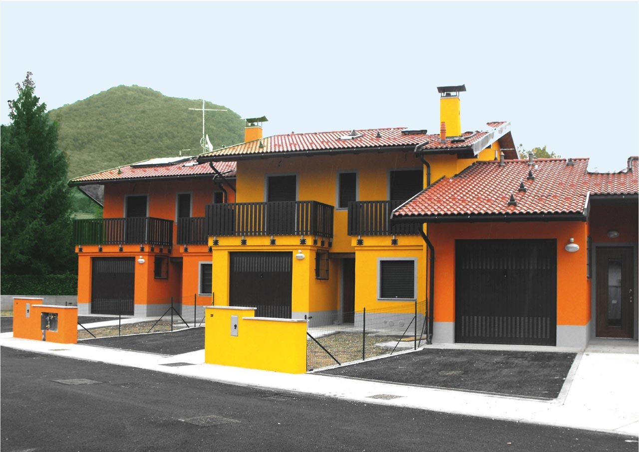 case popolari a due piani costantini sistema legno