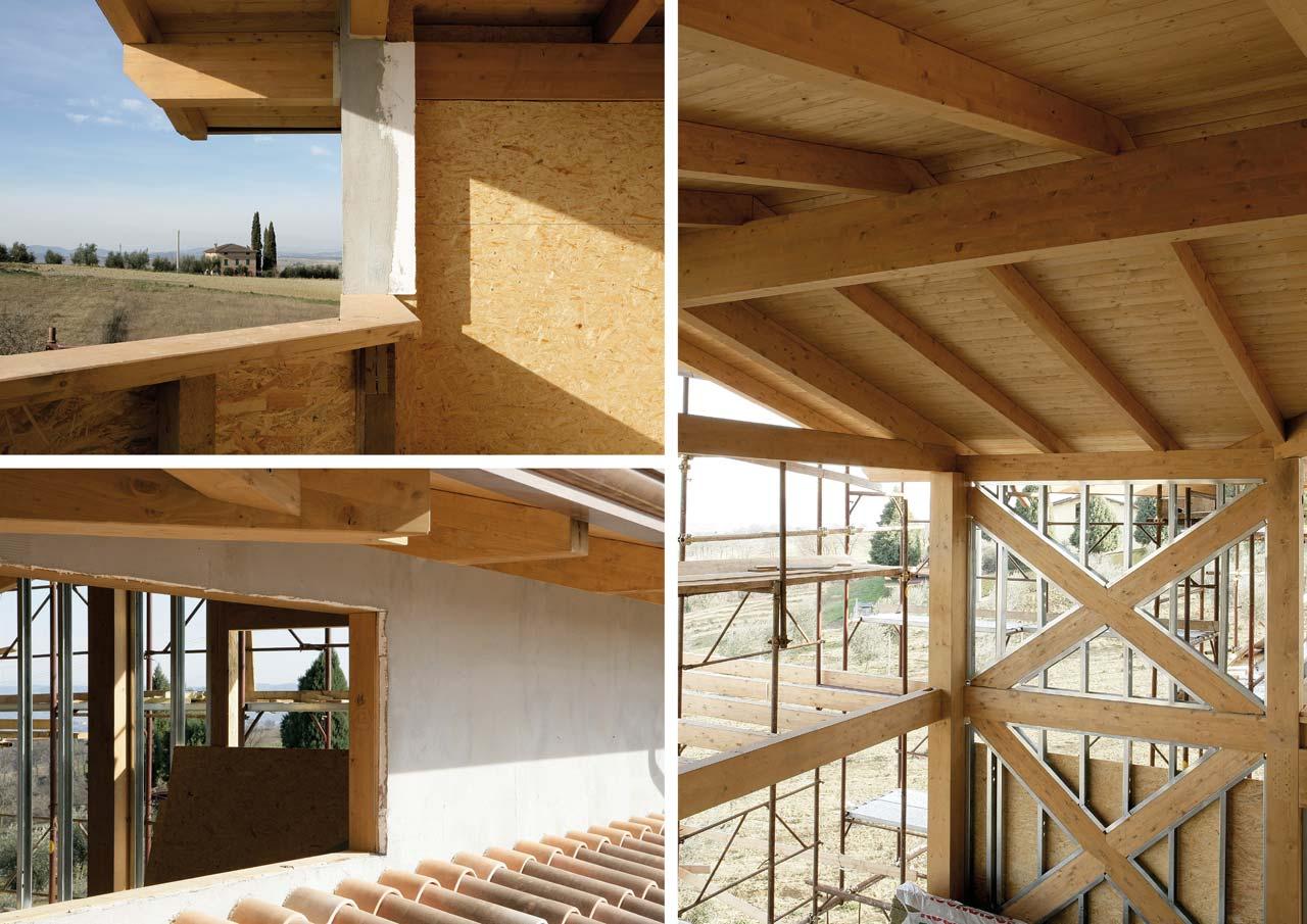 Costruire casa legno casa a due piani umbria costantini - Quanto costa costruire una casa in legno ...