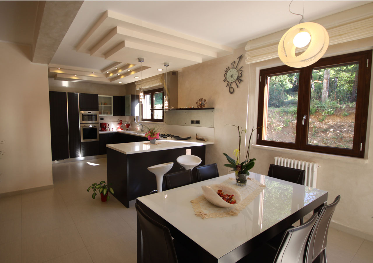 Casa a due piani l 39 aquila abruzzo costantini sistema for Casa a 2 piani in vendita