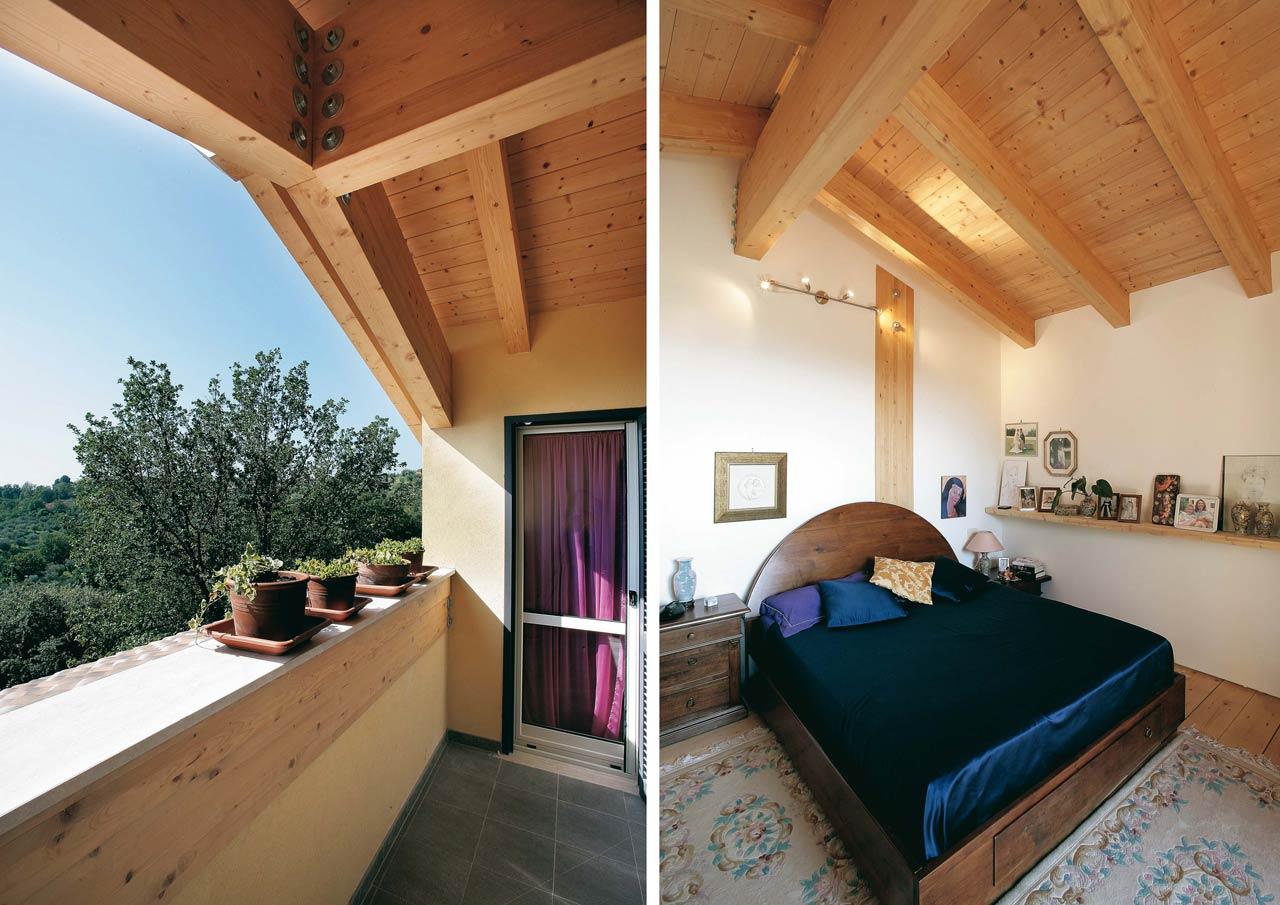 Casa a due piani umbria terni costantini sistema legno for Interni casa