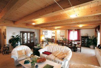 Case, strutture e tetti in legno lamellare  Costantini Sistema Legno