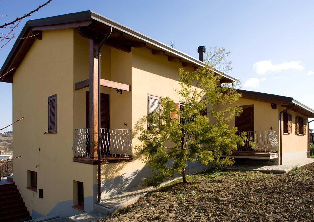 Casa a due piani todi umbria costantini sistema legno for Piani di casa residenziali