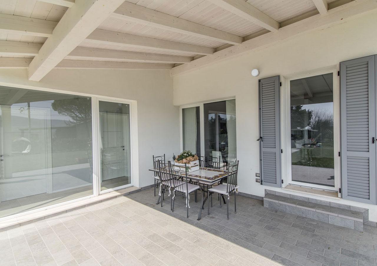 Casa ad un piano perugia 1 umbria costantini sistema for Piano di costruzione in legno soppalco