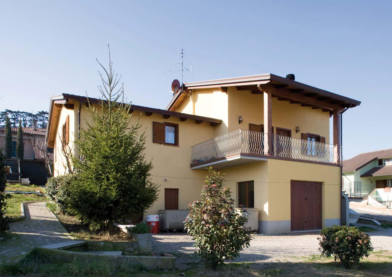Casa a due piani todi umbria costantini sistema legno for Disegni di casa a due piani