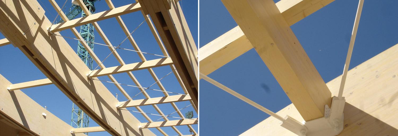 Grandi strutture costantini sistema legno - Dimensioni piscina olimpionica ...