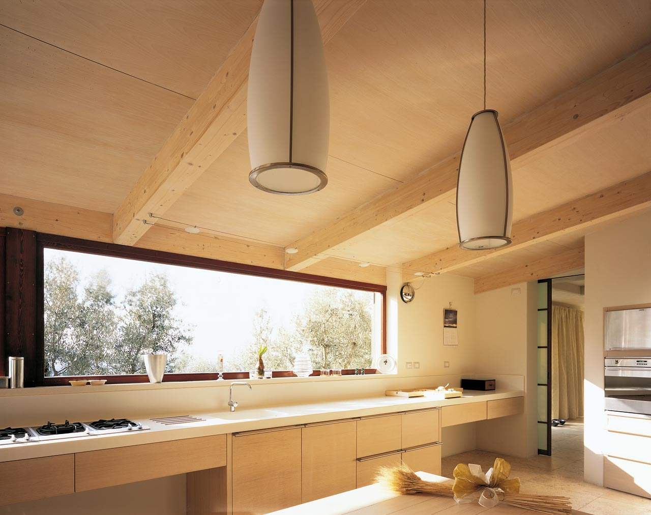 Tetto in legno casa costantini sistema legno - Casa con tetto in legno ...