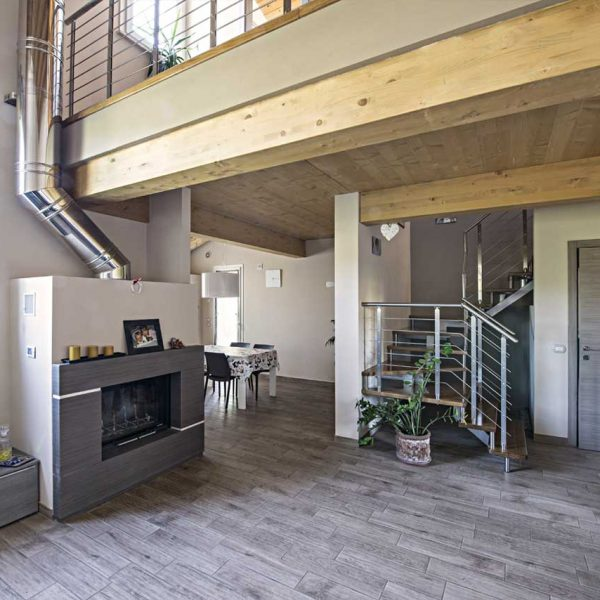Casa in legno a due piani firenze toscana costantini for Cost case in legno