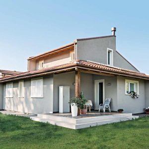 Casa in legno a due piani firenze toscana costantini for Migliori piani casa a due piani 2016