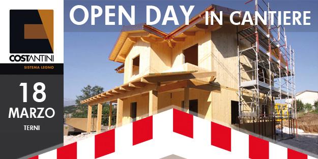 Open Day casa in legno TR