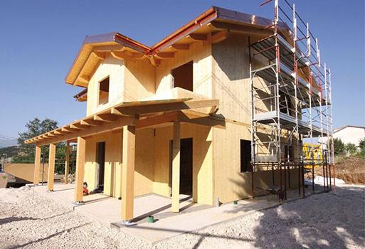 case strutture e tetti in legno lamellare costantini