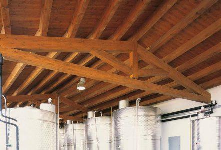 Copertura In Legno Isolata : Tetti in legno coperture travi in lamellare costantini sistema