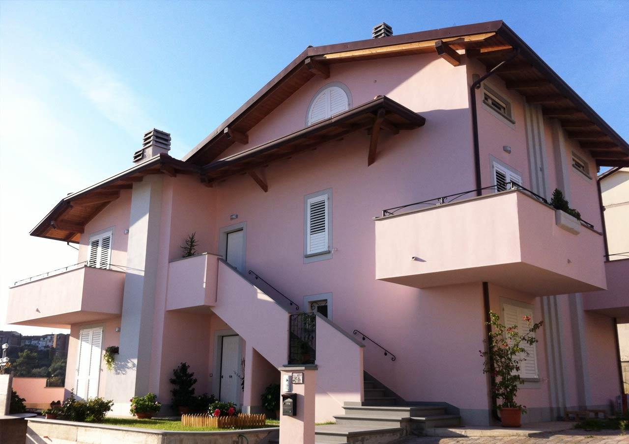Casa a tre piani lazio costantini sistema legno for Piani casa com