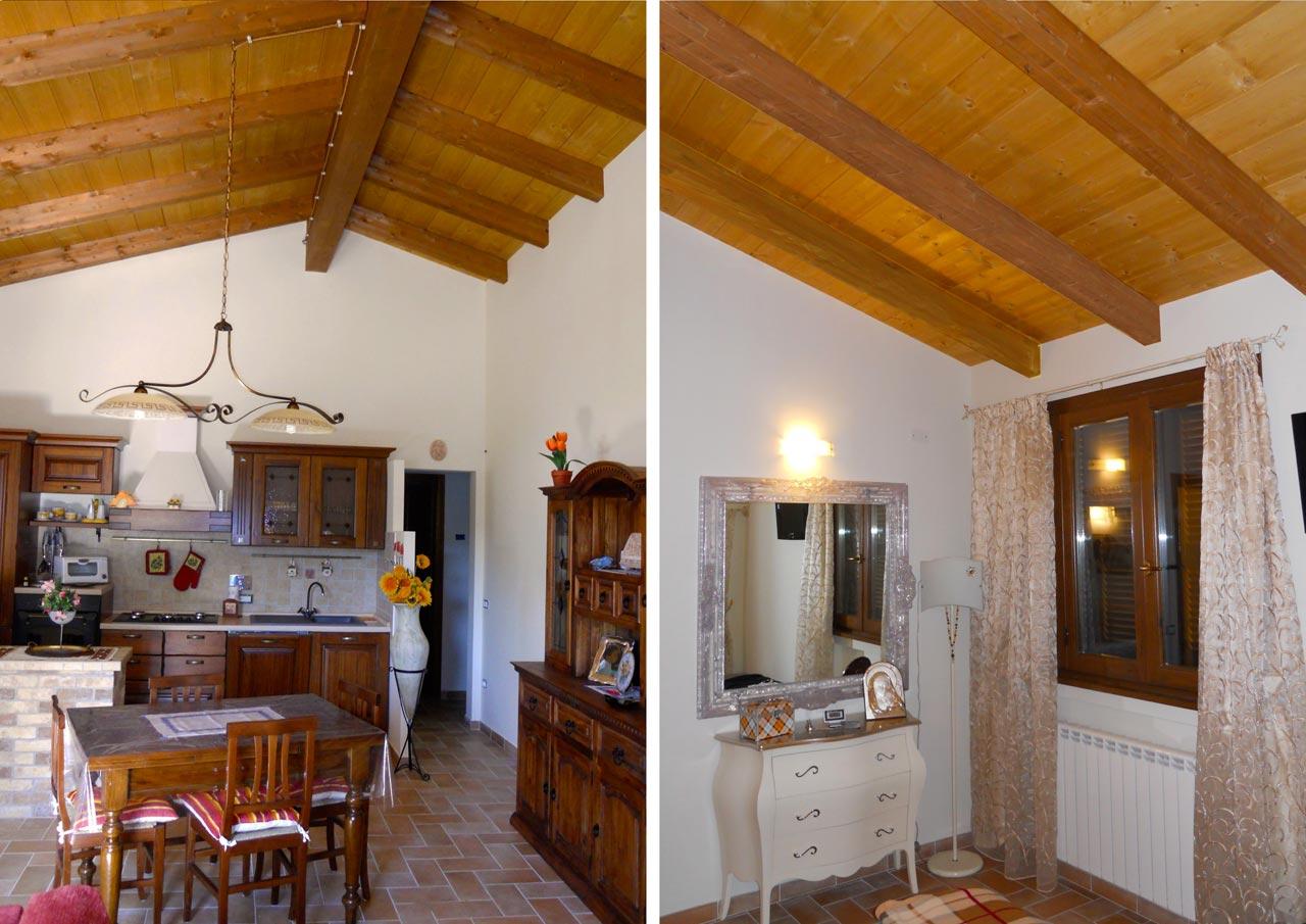 Casa a un piano spoleto umbria costantini sistema legno for Casa moderna con tetto in legno