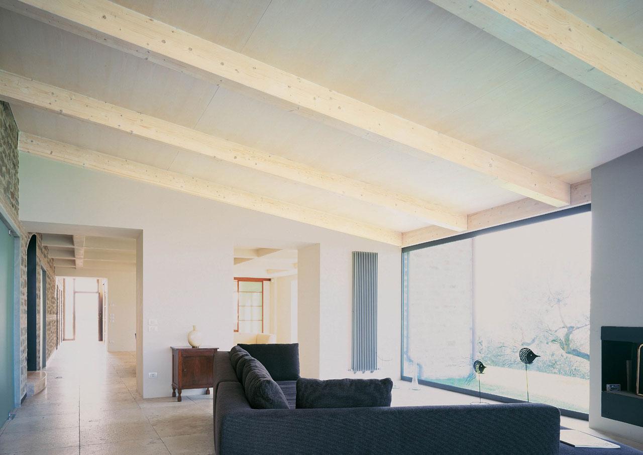 Casa a due piani assisi umbria costantini sistema legno for Piani casa 1 piano
