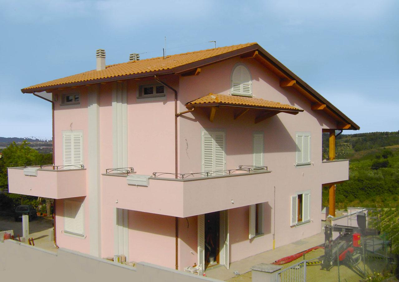 Casa a tre piani lazio costantini sistema legno for Aprire piani casa seminterrato