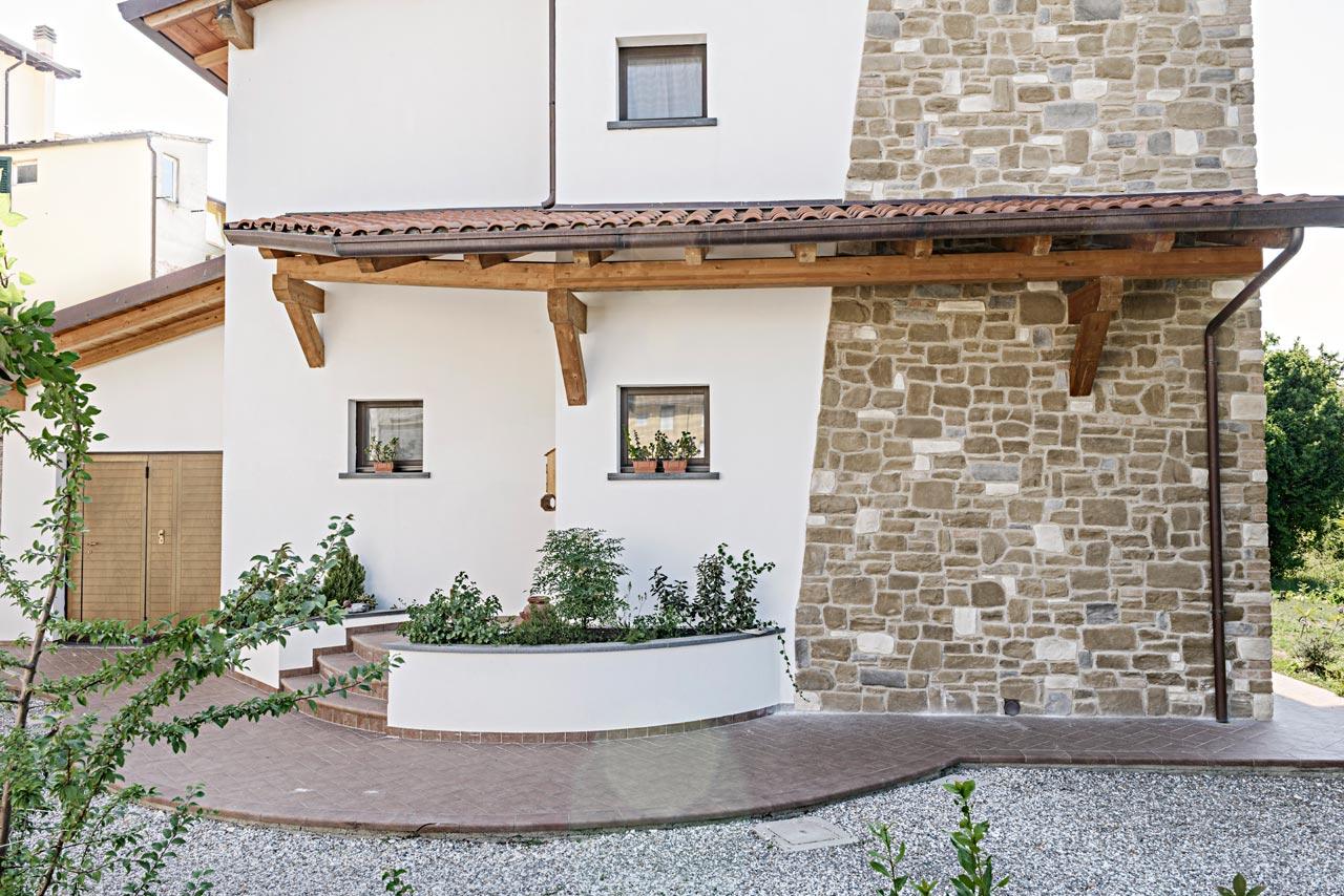 Casa in legno siena toscana costantini sistema legno for Costantini case in legno