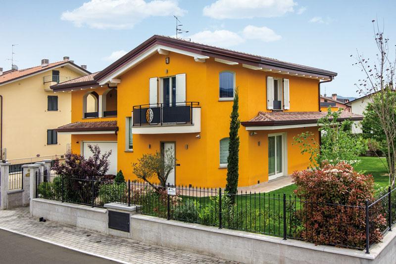 Casa a due piani umbertide umbria costantini sistema for Piani di costruzione di piccole case