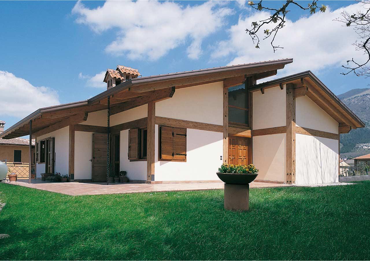 Casa a un piano teramo abruzzo costantini sistema legno for Case da costruire