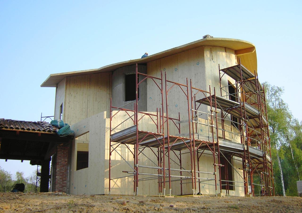 Casa a due piani emilia romagna costantini sistema legno for Fienile casa piani casa
