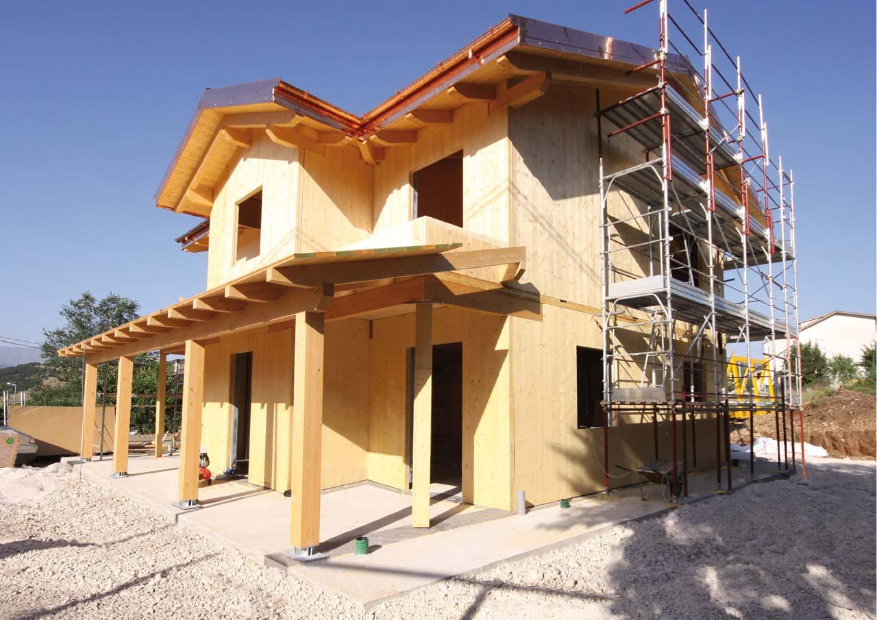 Casa a due piani l 39 aquila abruzzo costantini sistema for Progetti ville a due piani