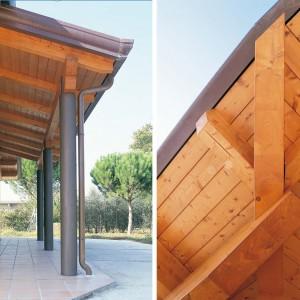 Casa a un piano lazio costantini sistema legno for Casa a 1 piano