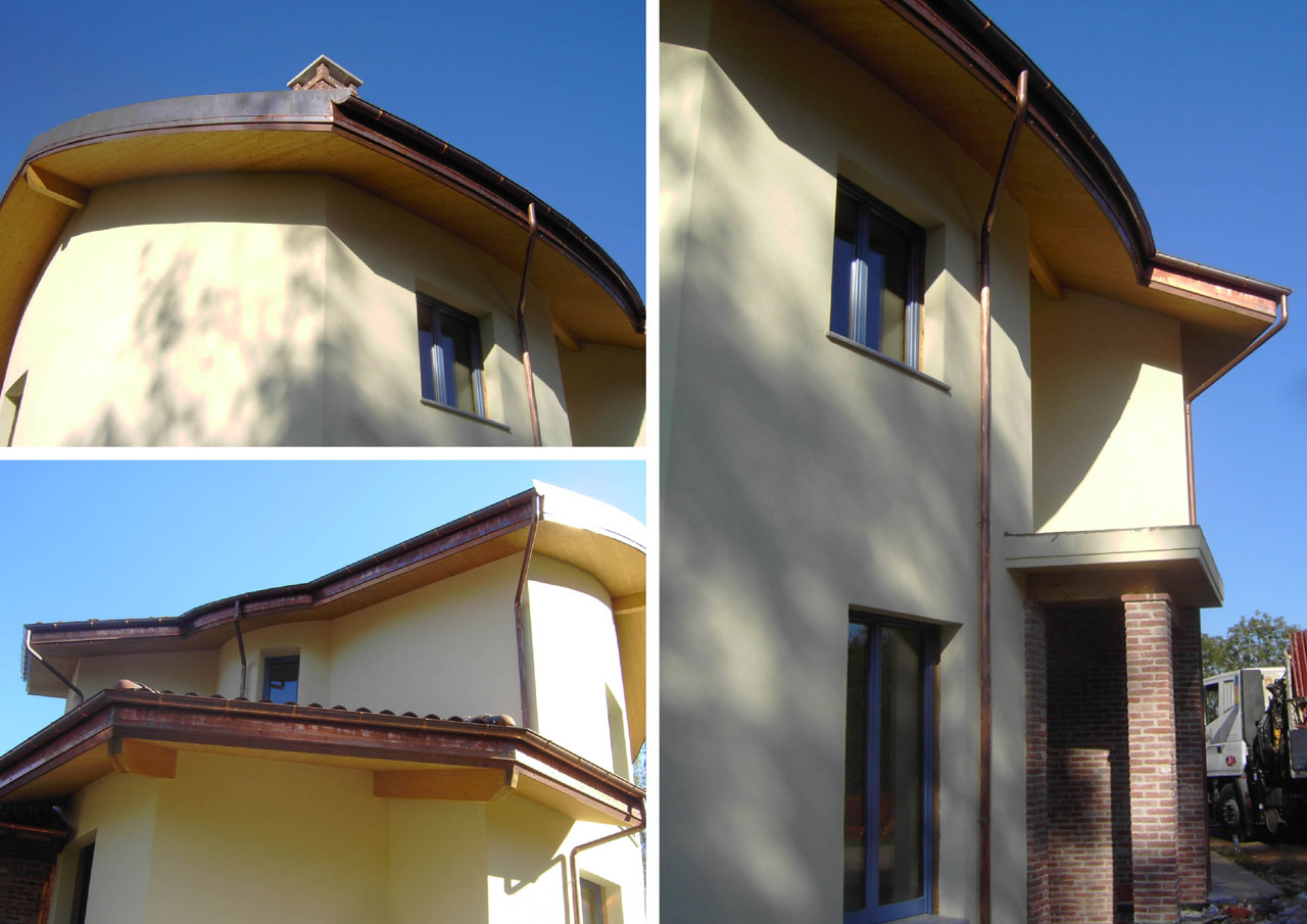 Casa a due piani emilia romagna costantini sistema legno for Casa a 2 piani