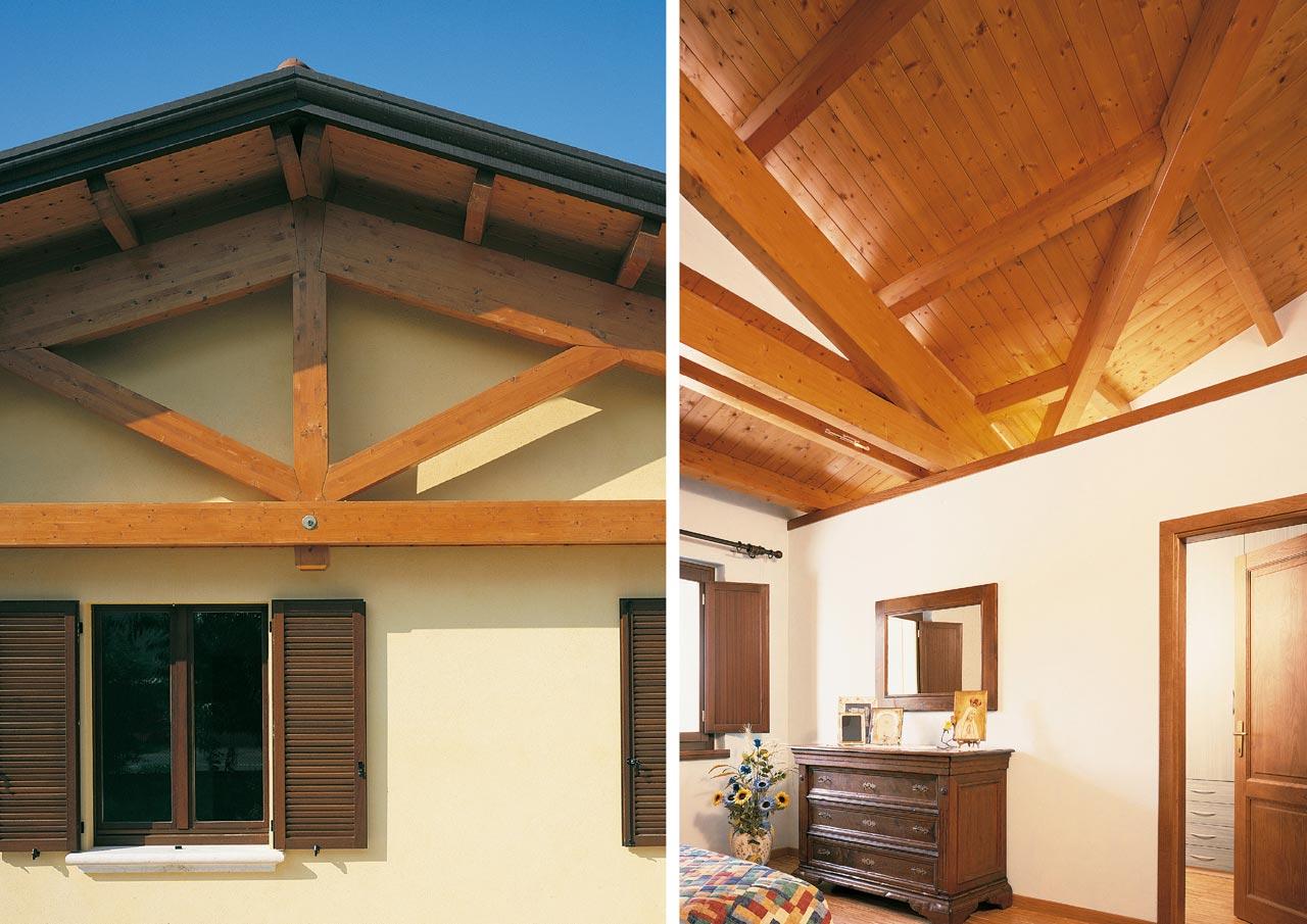 Casa a un piano lazio costantini sistema legno for Lacost case in legno