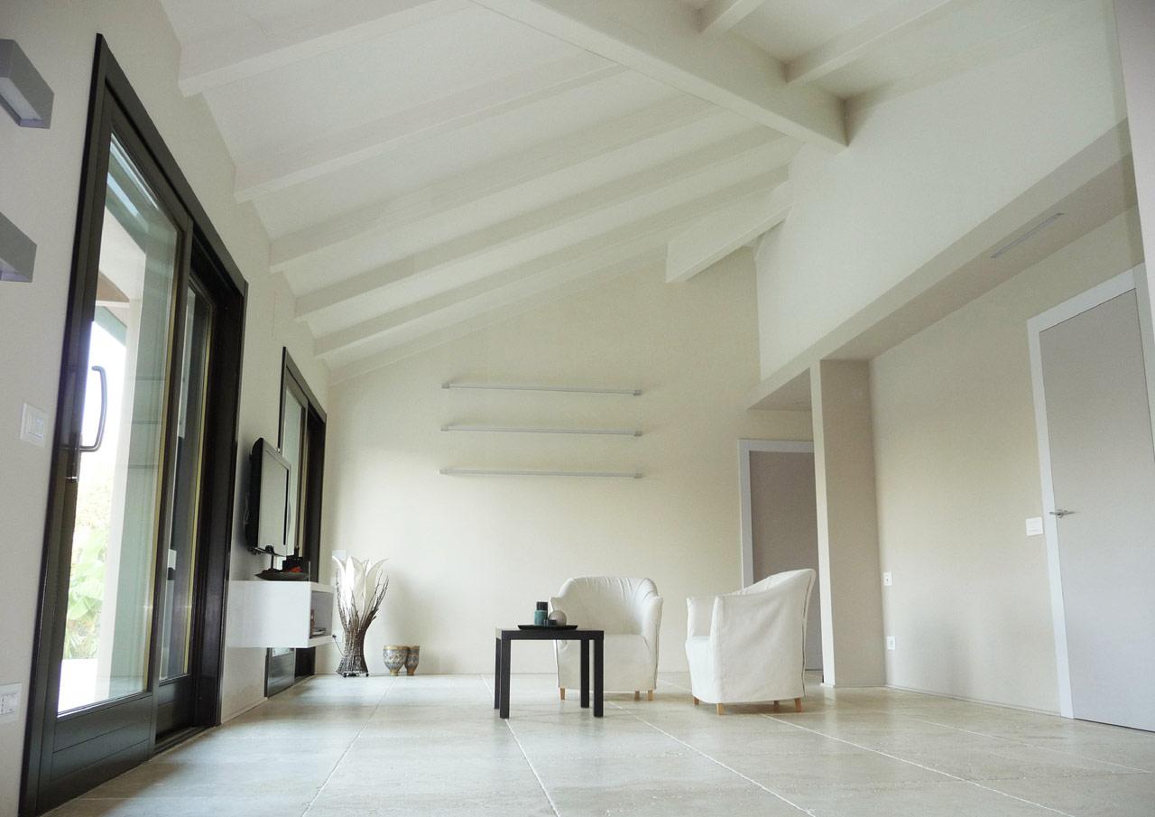Casa a un piano perugia costantini sistema legno for Case in legno interni