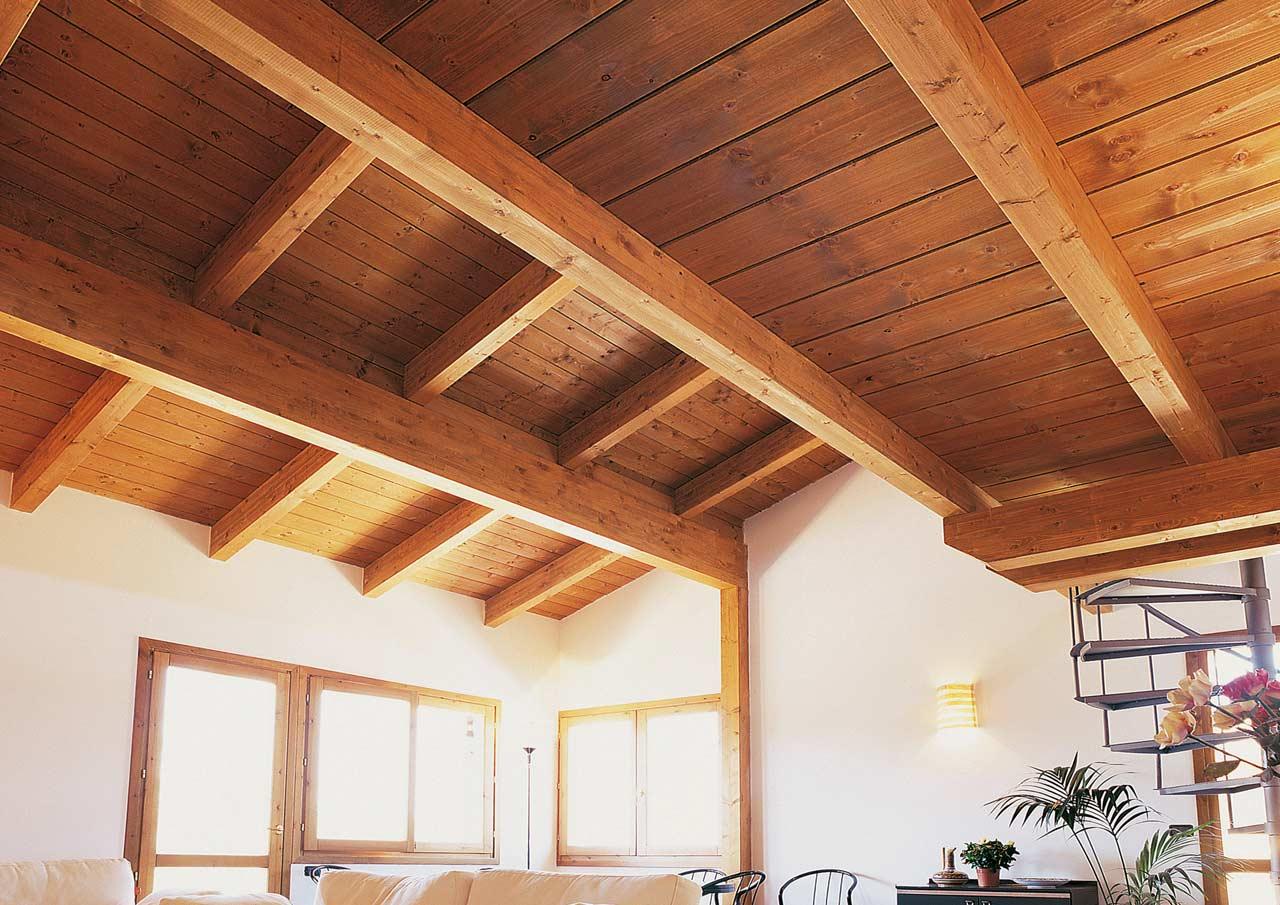 Casa a un piano teramo abruzzo costantini sistema legno for Case di legno interni