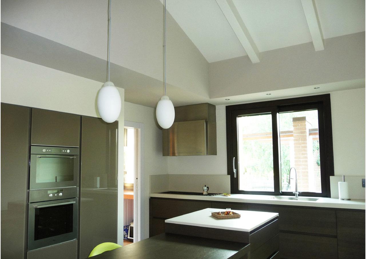Interni Case Prefabbricate In Legno casa a un piano - perugia - costantini sistema legno