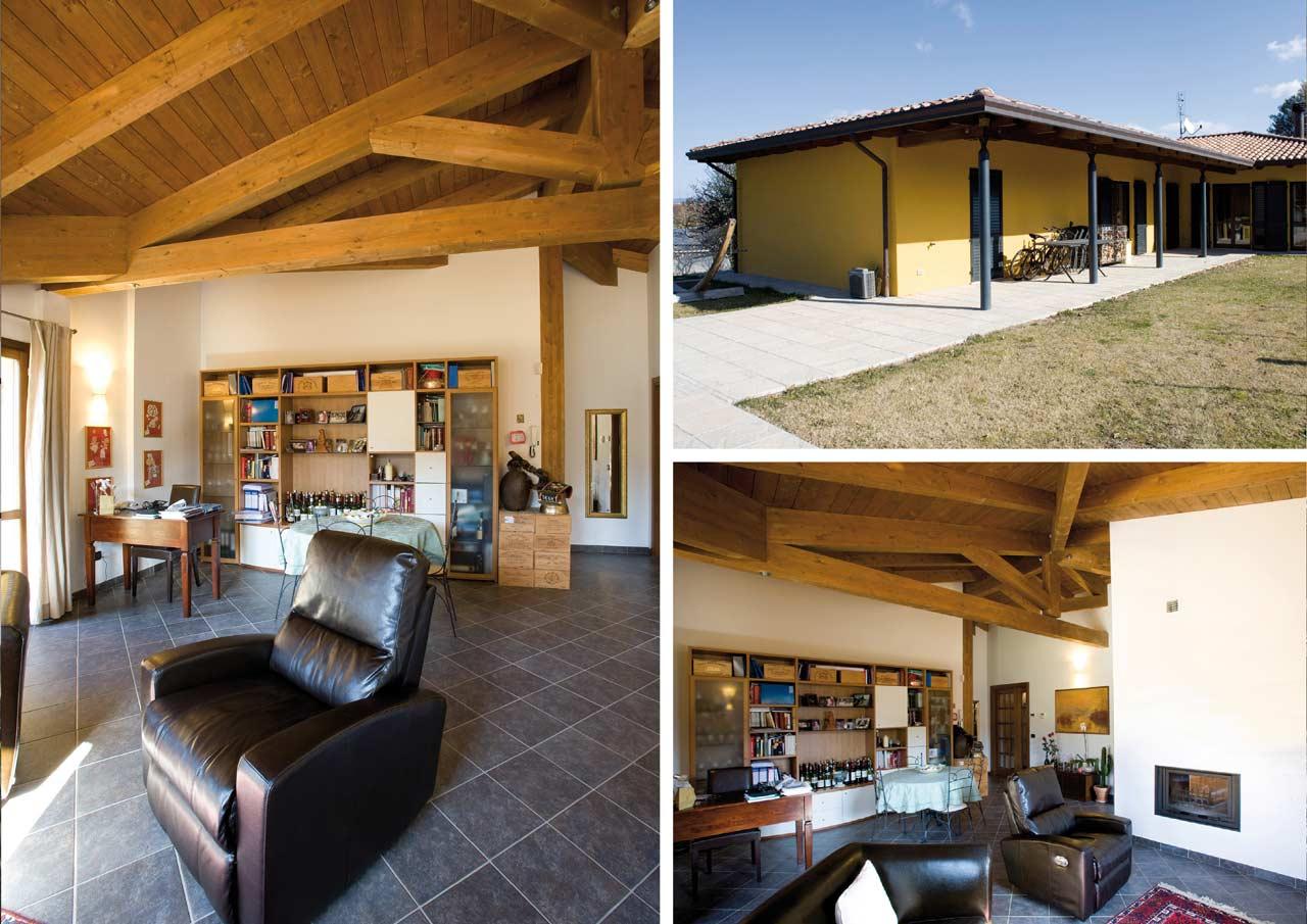 Casa a un piano emilia romagna costantini sistema legno for Lacost case in legno