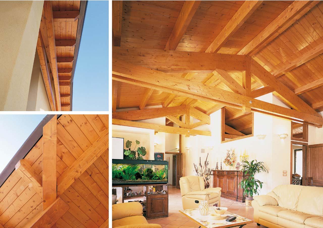 Casa a un piano lazio costantini sistema legno for Case in legno interni