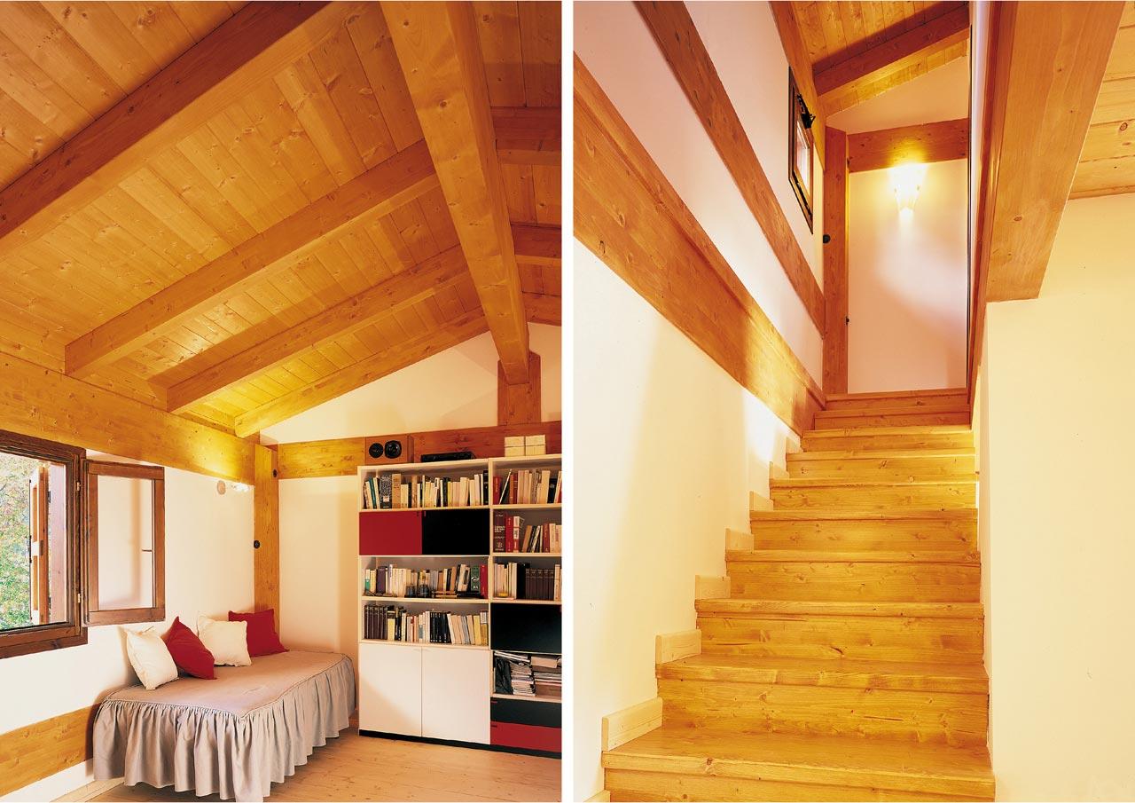 Casa a due piani umbria 2 costantini sistema legno - Costo ascensore interno 3 piani ...