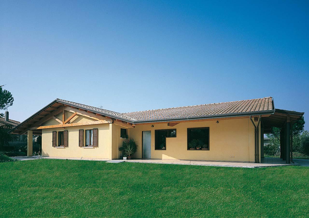 Casa a un piano lazio costantini sistema legno for Nuove case a un piano