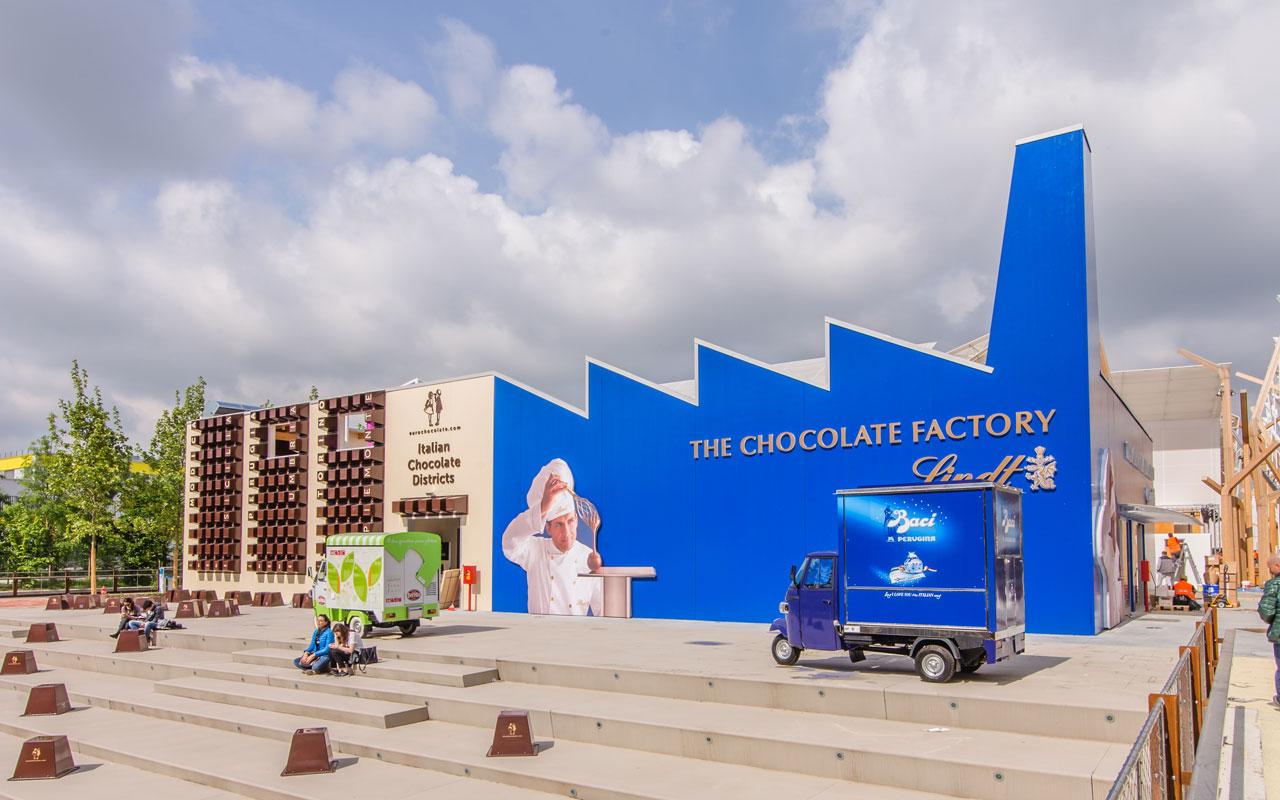 Fabbrica del Cioccolato - Lindt Milano - Expo 2015