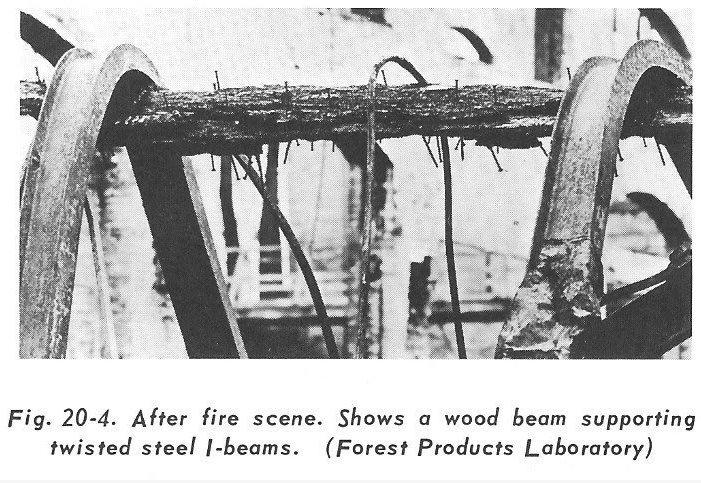 Travi acciaio e legno