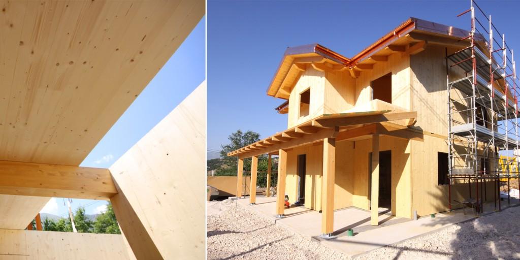 Castelnuovo berardenga si open day cantiere casa in for Costantini case in legno