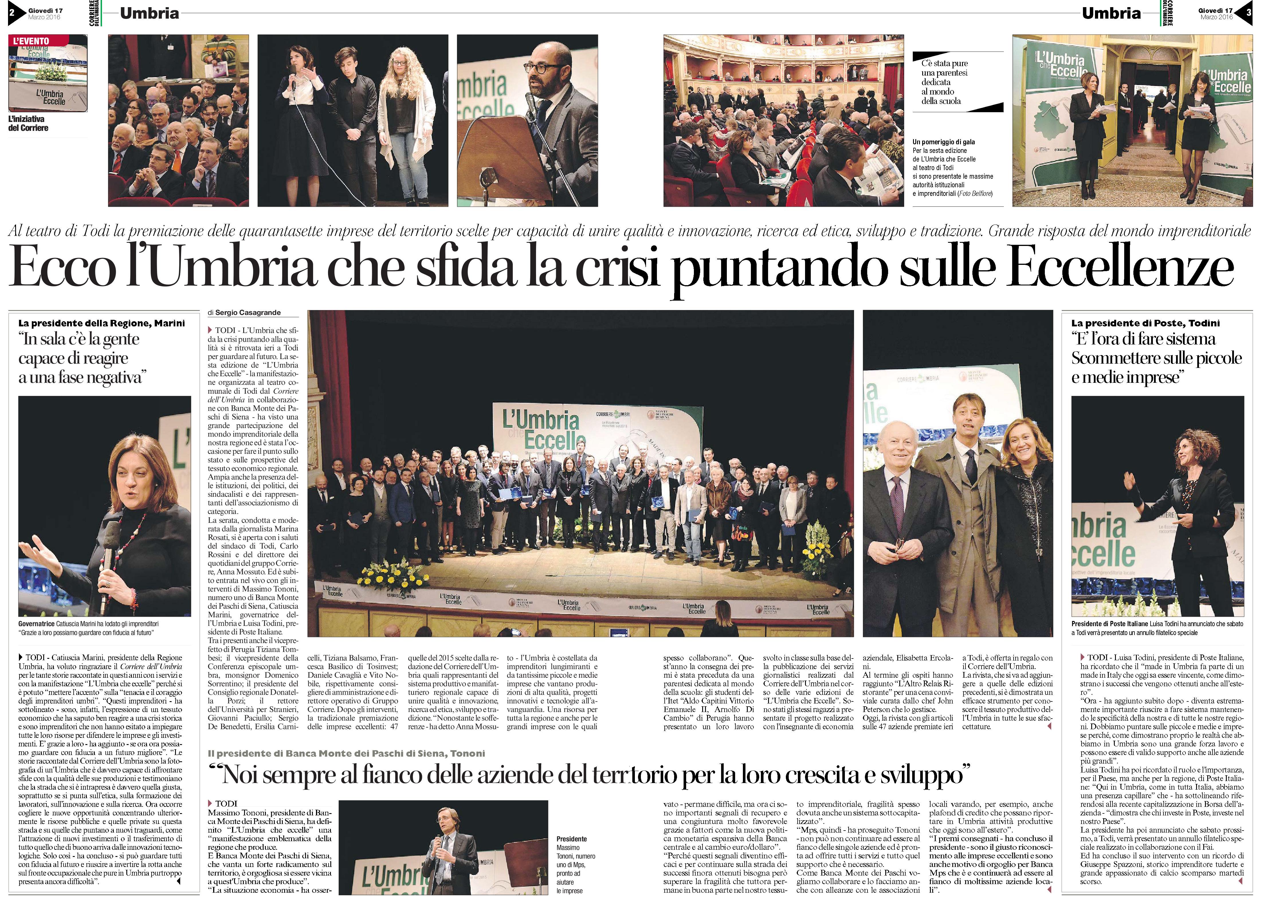 L'umbria che eccelle-LA Cost - Corriere dell'Umbria-02