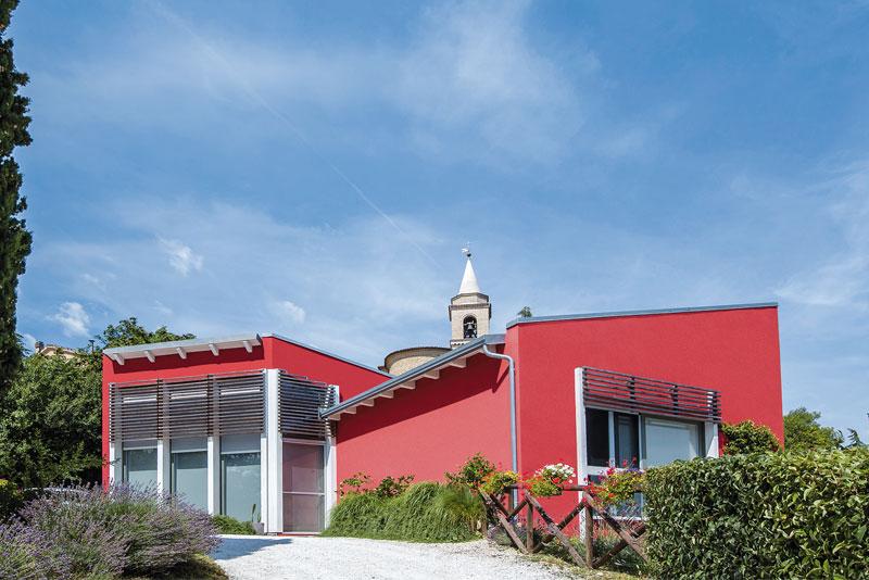 Casa a un piano ancona marche costantini sistema legno - Legge piano casa marche ...