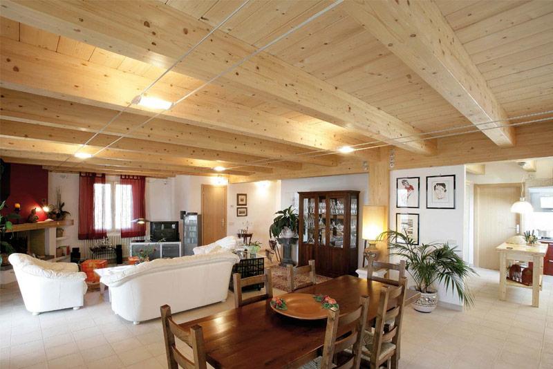 case in legno toscana