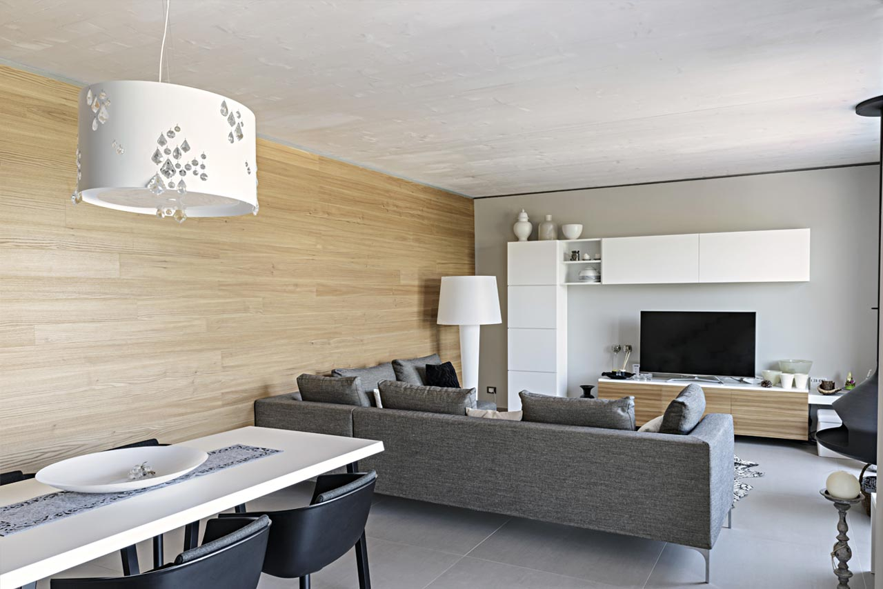 Ampliamento e sopraelevazione in legno for Lacost case in legno