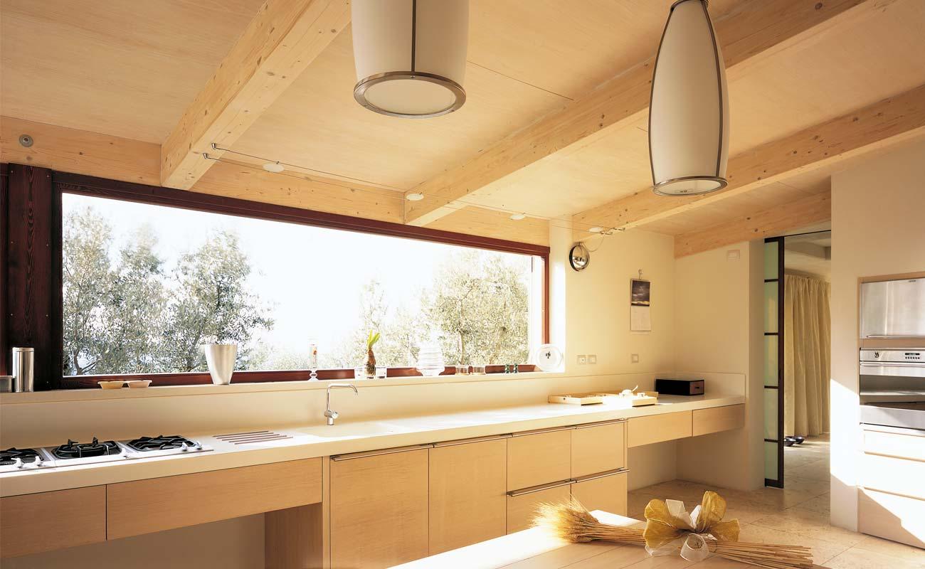 Vivere in una casa in legno l 39 importanza del comfort for Comprare una casa di legno