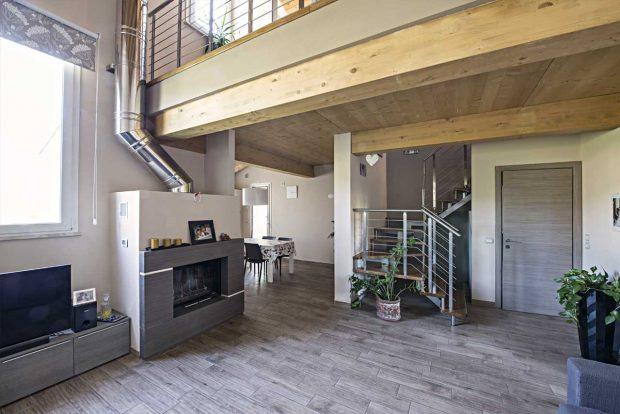Gallery e foto case in legno realizzate for Grandi case a un piano