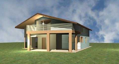 Catalogo case in legno costantini sistema legno for Catalogo case