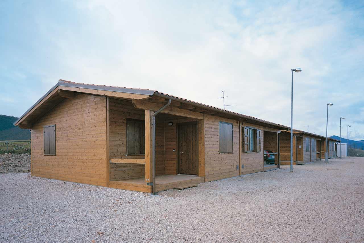 Strutture abitative sisma umbria marche 1997 for Case in legno umbria